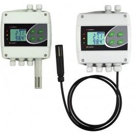Monitor de temperatura e umidade com interface ethernet, webserver incorporado.