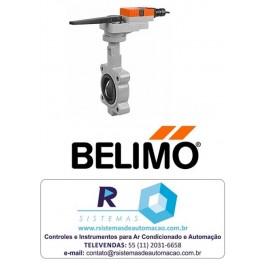 "Valvula 2 vias Borboleta + Atuador ON/OFF 2"" até 6"" - BELIMO"