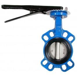 """Válvula Borboleta – 150# – Tipo Wafer  ou Lug  / Semi-lug  Acionamentos: Alavanca / caixa redutora/ Atuador pneumático dupla Ação,  Retorno por mola e Atuador elétrico.  Diâmetro de 11/2""""a 42"""""""